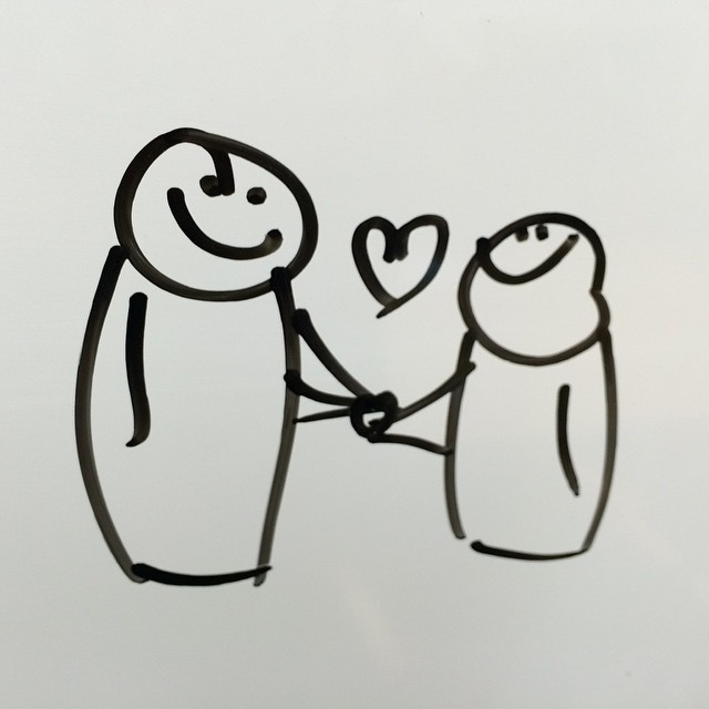 Whiteboard Cuteness